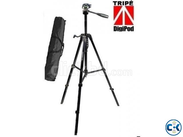 Digipod TR-462 Aluminum Light weight Camera Tripod | ClickBD large image 1