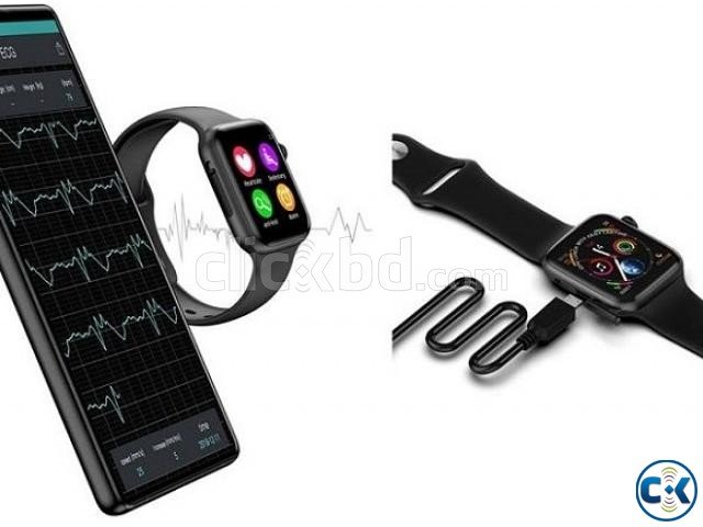 P90 Smartwatch 44mm 1.54 HD IPS Support ECG Dynamic Heart Ra | ClickBD large image 3