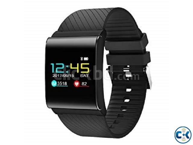 X9 Pro Smartwatch Color Touch Screen Blood Pressure Monitor | ClickBD large image 1