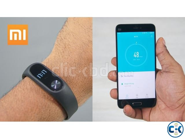 Xiaomi Mi Band 2 Smart Band Fitness Tracker Original | ClickBD large image 2