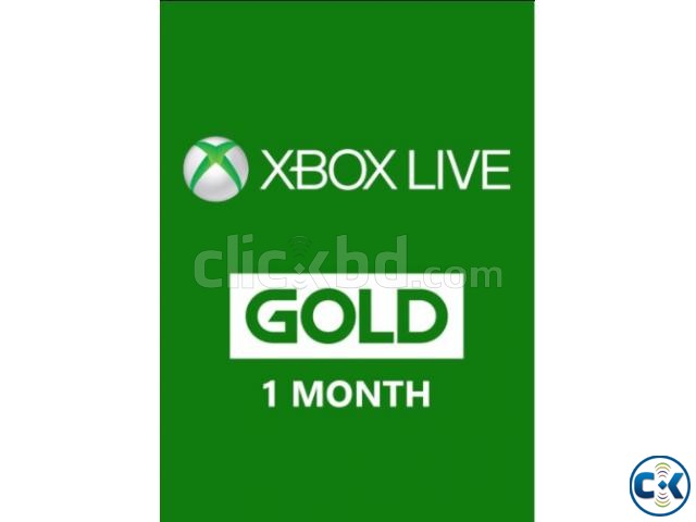XBOX GOLD 1 MONTH | ClickBD large image 0