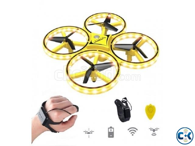 Kids Finger Gesture Control Toy Helicopter 2.4G Remote Contr | ClickBD large image 0