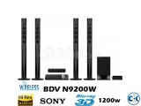 SONY 5.1 N9200 Bluetooth wi-fi Blue-Ray HOME THEATER