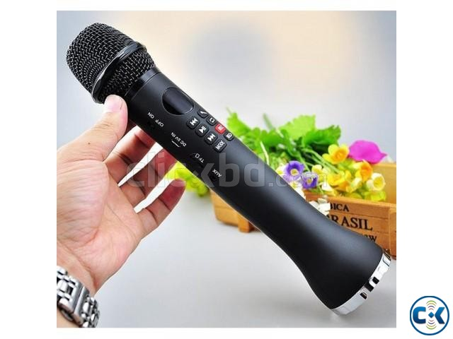 Karaoke Speaker Karaoke Microphone - 9 Watt Best Quality | ClickBD large image 0