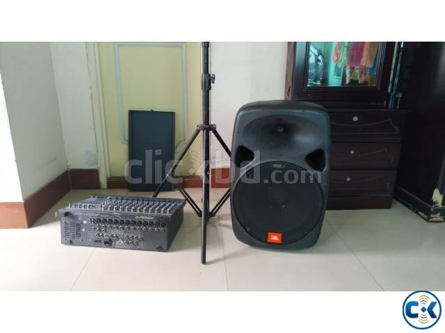 13 CHANNEL POWERED CONSOLE with 16 JBN speaker | ClickBD large image 0