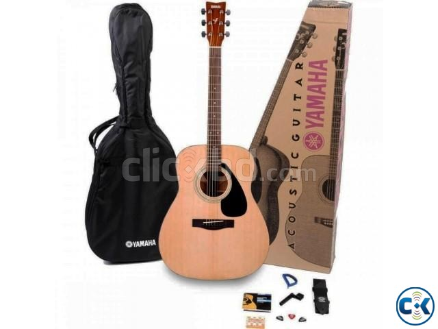 YAMAHA F-310P Acoustic Guitar Full Package 100 Genuine  | ClickBD large image 0