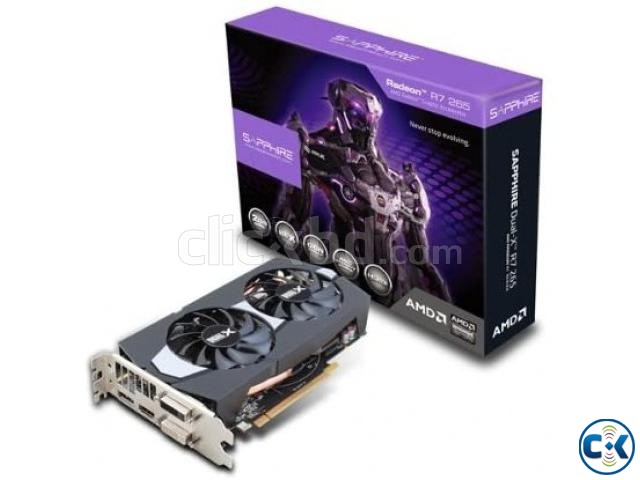 Sapphire Radeon R7 265 2GB DDR5 Dual-x Antec VP500PC | ClickBD large image 0