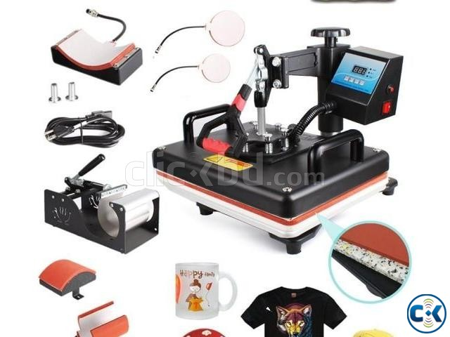 Combo all in one heat press machine | ClickBD large image 2