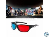 3D GLASS 1 Pair FOR GAMES Free 30 Movies
