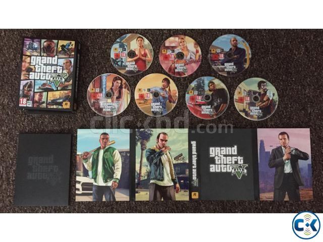 GTA 5 FOR PC GAMES Original Working 100  | ClickBD large image 1
