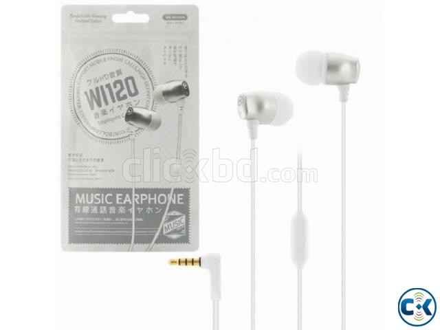 WK Design wi120 Wired Headphone Price in Bangladesh | ClickBD large image 0