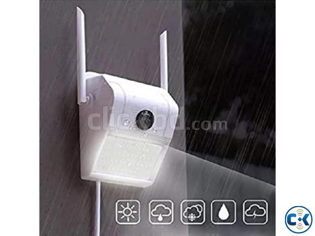V380 Wifi Wall Lamp Camera Water-Proof Night Vision | ClickBD large image 3