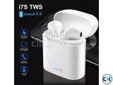 I7s tws blutooth dual Earphone headphone White best Quality