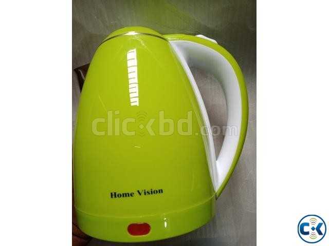 Home Vision 1.8L Electric Kettle Plastic Body  | ClickBD large image 0