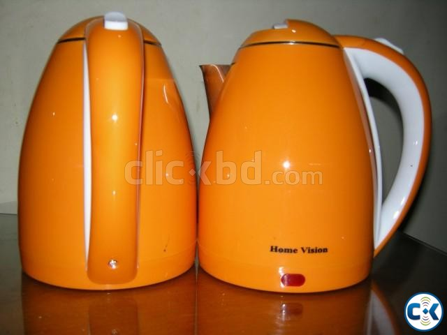 Home Vision 1.8L Electric Kettle Plastic Body  | ClickBD large image 2