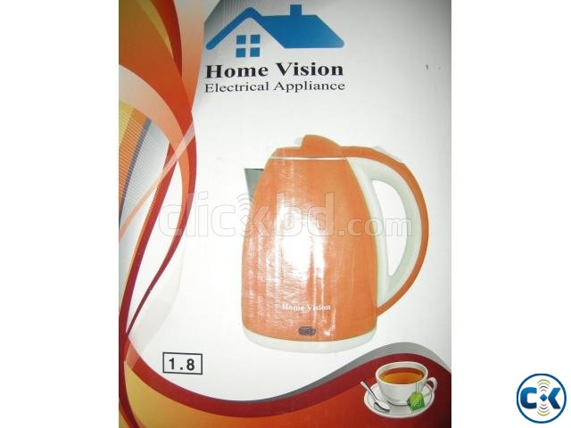 Home Vision 1.8L Electric Kettle Plastic Body  | ClickBD large image 3