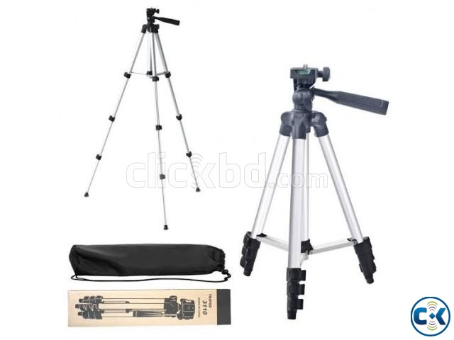 Tripod Mobile camera stand white and black | ClickBD large image 0