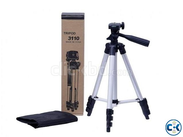 Tripod Mobile camera stand white and black | ClickBD large image 2