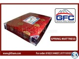 GFC spring Mattress with topper 78 x57 x8