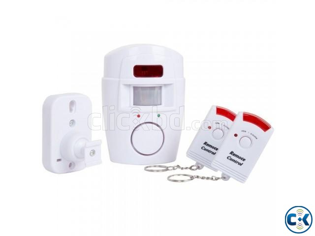 Home Security Burglar Alarm System Wireless Motion Sensor | ClickBD large image 1