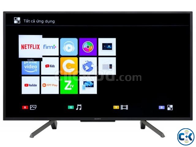Sony Bravia 43 Inch W660G Full HD Smart LED TV | ClickBD large image 1