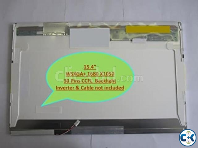 Used 15.4 Laptop lcd display screen B154EW08 Running | ClickBD large image 1
