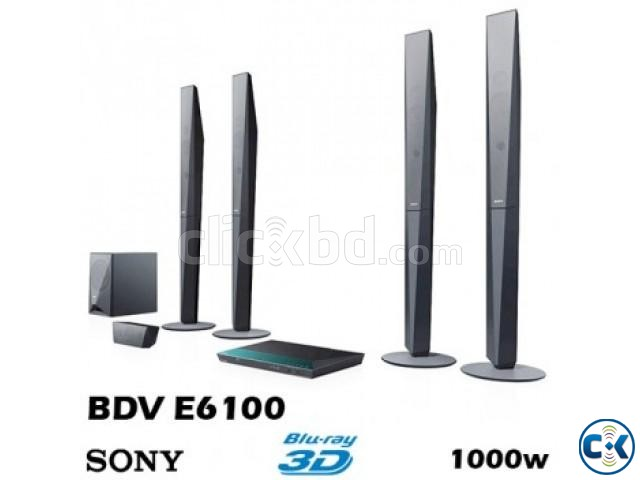 BRAND NEW SONY E6100 BLURAY 3D HOME THEATER | ClickBD large image 1