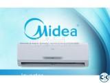 1.0 Ton BTU-12000 Midea Split AC with 3 Years Compressor G