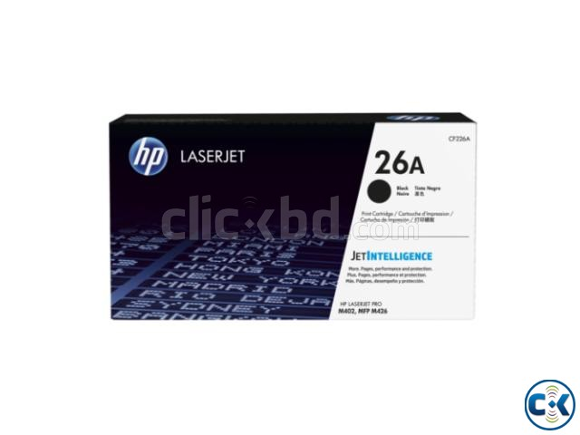 HP 26A Black Original Toner Cartridge | ClickBD large image 0