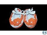 Baby Crochet Shoes With Heavy Duty Sole