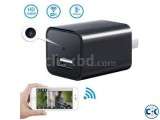 Spy Camera Charger Live Wifi IP Cam Video with Voice Record