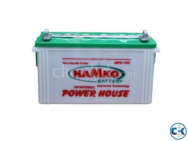 Hamko IPS Battery HPD100AH | ClickBD large image 0