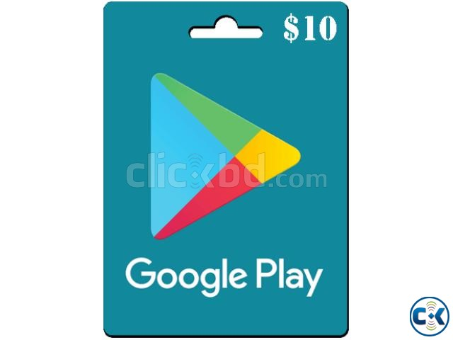 10 usd Google Play Gift Card | ClickBD large image 0