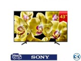 Sony Bravia X8000G 43 inch Ultra HD 4K LED Android TV