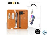 Zhuse Star River 3 Series 6000mAh Leather Card Holder Wallet