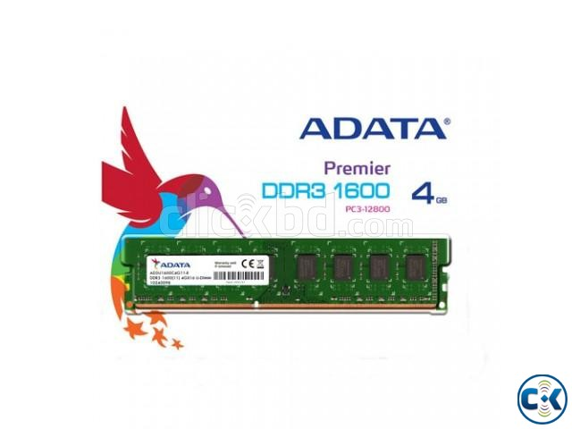 ADATA 4GB DDR3 1600 BUS | ClickBD large image 0