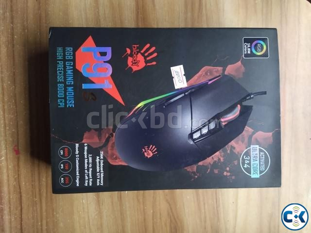Rapoo VPRO V52 Keyboard and A4Tech Bloody P91 Mouse | ClickBD large image 1