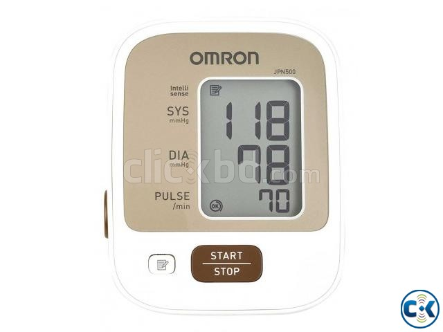 Blood Pressure Monitor Omron JPN500 Digital Automatic Blood | ClickBD large image 1