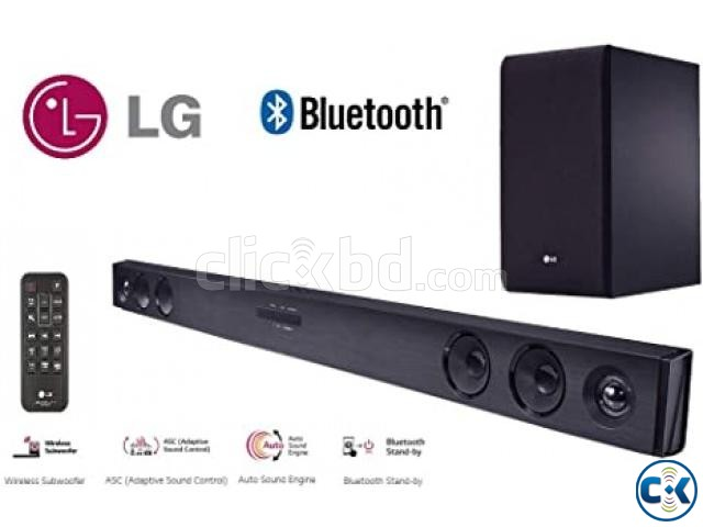 LG SJ3 300W 2.1Ch Sound Bar Adaptive Sound Control | ClickBD large image 0