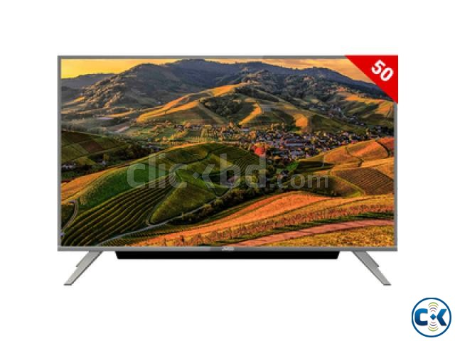 JVCO ANDROID 4K Voice Control 2GB RAM 16 GB ROM 50 Inch TV | ClickBD large image 1