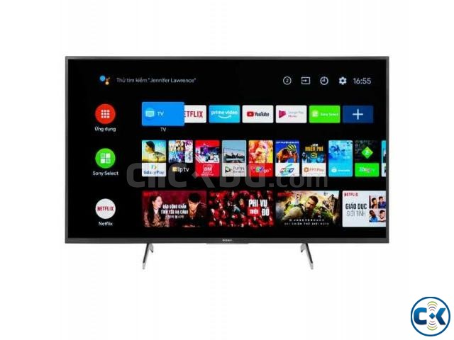 SONY BRAVIA 55X7500H 4K Processor X1 HDR ANDROID TV | ClickBD large image 4