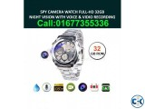 Spy Camera Watch HD Waterproof 32GB Memory Video with Voice