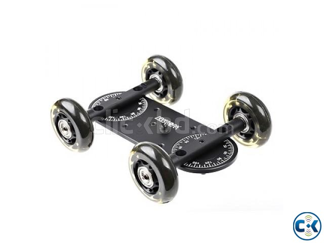 Sevenoak SK-MS01 Motorized Dolly with SK-DW03 Dolly Tracker | ClickBD large image 1