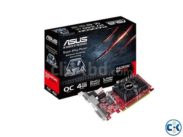 Asus Radeon R7240-2GD3-L Graphics Card | ClickBD large image 0