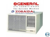 2.0 Ton O'General AC AXGT24AATH  window type Genuine product