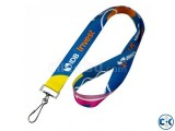 Sublimation Multi Color ID Card Ribbon lanyards