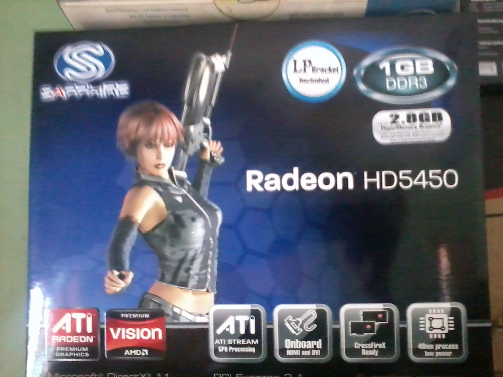 ATI REDION HD5450 NEW..DDR3CALL..01674834418 | ClickBD large image 0