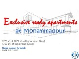 Ready flats for sale at Iqbal road Mohammadpur
