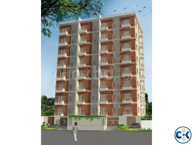 1480 sft south face on going flats at Block I Boshundhora | ClickBD large image 0