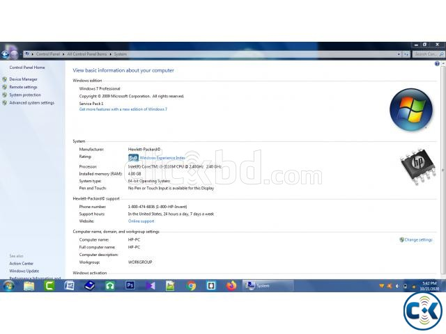 Laptop for sell | ClickBD large image 3
